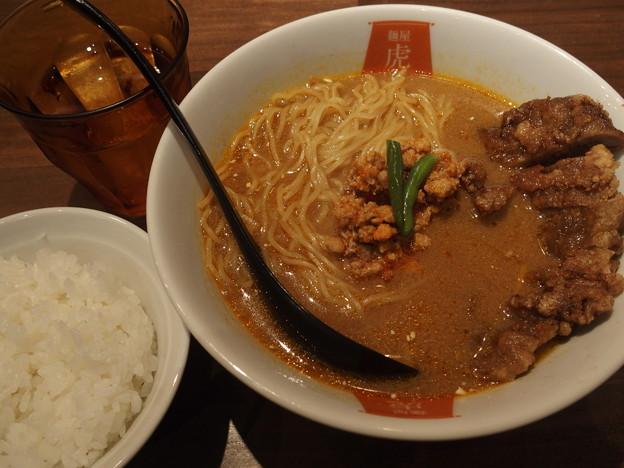 麺屋虎杖 パーコーカレー担々麺