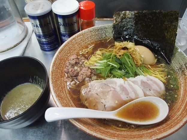 覆麺智 2020年12月前半土曜限定 牡蠣出汁の正油ラーメン