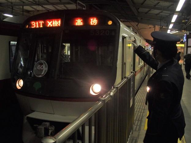 京急線京急品川駅2番線 都営5320F(相互直通60周年HM)エアポート快特高砂行き表示確認