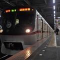 京成本線高砂駅3番線 都営5320F(浅草線開業60周年HM)快速成田空港行き(2)