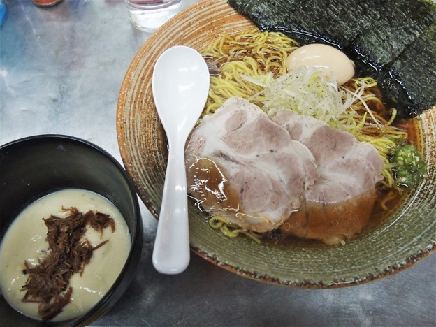 覆麺智 2021年1月火曜限定 生ハム原木出汁の正油ラーメン