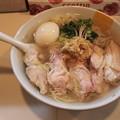 塩生姜らー麺専門店MANNISH 塩生姜らー麺肉玉入り生姜特に多め