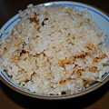Photos: 玄米 炊飯 おこげ