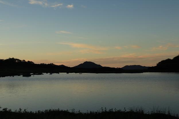 夜明けのヒサゴ沼