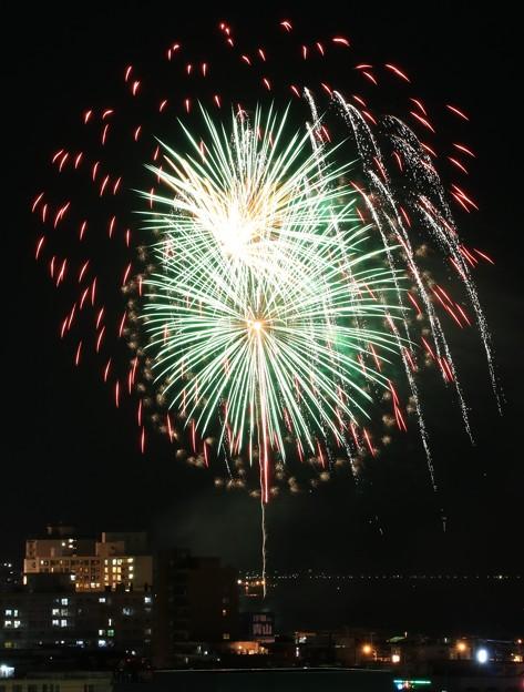 湯の川温泉花火大会