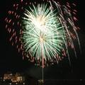 写真: 湯の川温泉花火大会