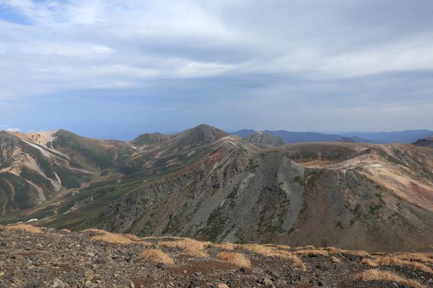 旭岳山頂からの眺望