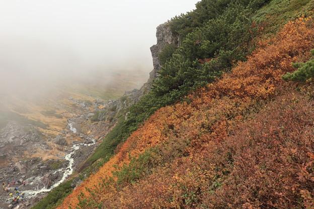 中岳温泉の紅葉