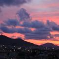 夕暮れの函館山