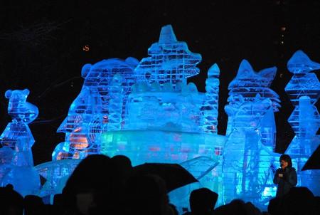 第69回さっぽろ雪祭り HappyBirthday! Hokkaido.