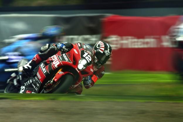 写真: #12 YOSHIMURA SUZUKI MOTUL RACING
