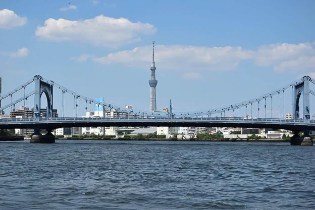 写真: 清洲橋