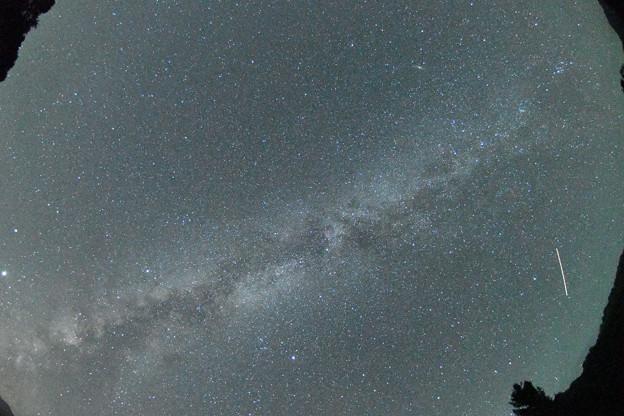 ISO51200で写した天の川
