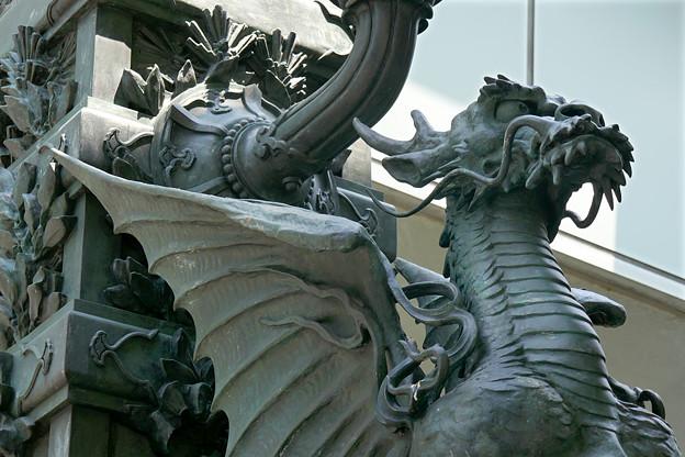 日本橋にいるドラゴン