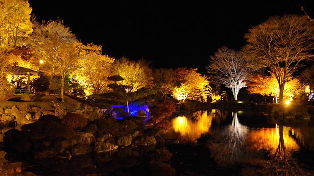 桜山公園にて