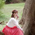 森の中の妖精