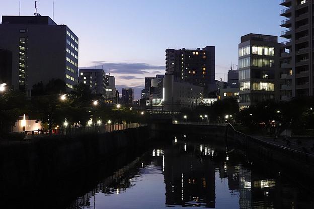 五反田の夕景