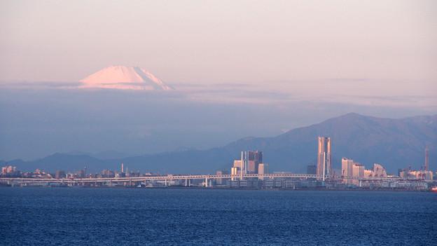 Photos: 富士山とみなとみらい