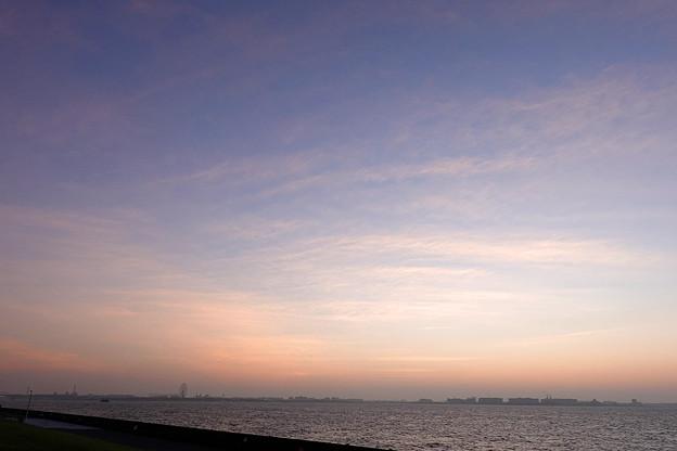 若洲海浜公園にて