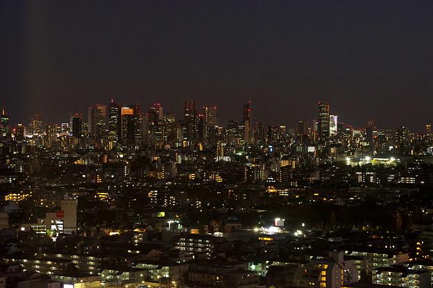 新宿・渋谷方面