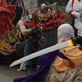 Photos: 石川県能登島向田の秋祭りにて。獅子舞。