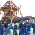 写真: 能登島  半浦町  秋祭りより。神輿
