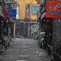 Photos: 雪の路地