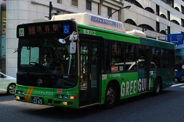都営バスT-T261