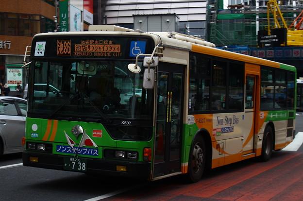 都営バスT-K507