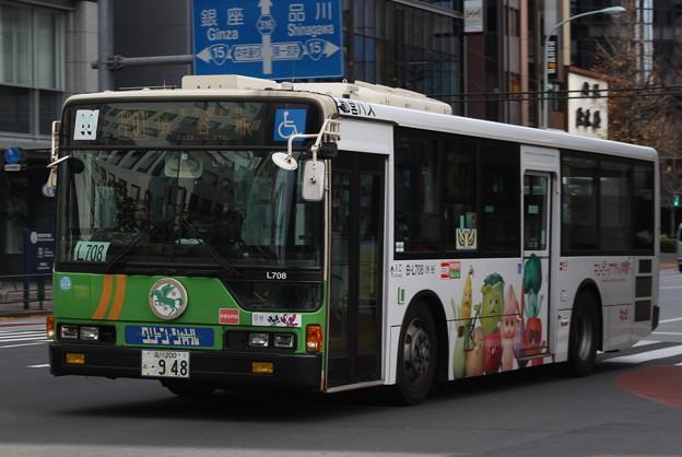 都営バスB-L708