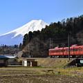 写真: 「富士登山電車」1000形
