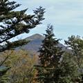 写真: モノレール山頂からの剣山