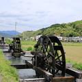 Photos: 四ヶ村溝の水車