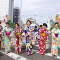 写真: 一宮七夕祭り2018・打ち水大作戦(3)