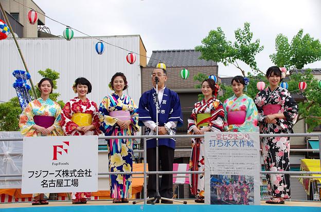 一宮七夕祭り2018・打ち水大作戦(1)
