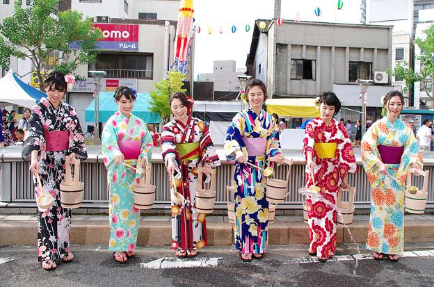 一宮七夕祭り2018・打ち水大作戦(4)