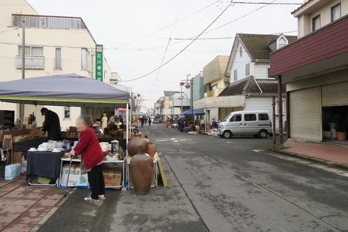 木下駅南骨董市(2018年2月)2