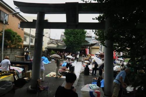 淡之須神社骨董市(2018年7月)