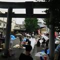 写真: 淡之須神社骨董市(2018年7月)