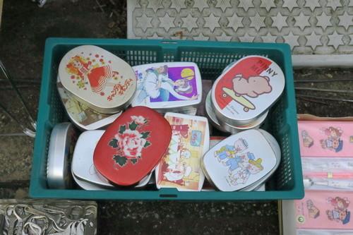 木下駅南骨董市(2018年10月)昭和のアルミ弁当箱