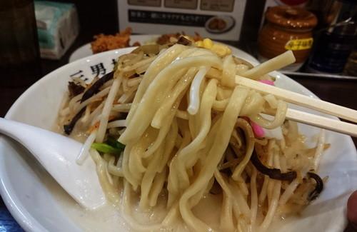 濃厚タンメン三男坊_濃厚タンメン(麺)