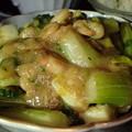 Photos: セロリとイカと海老の炒め物