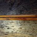Photos: 箸に漆拭き直し