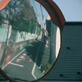 街角ミラー トイカメラ風撮影