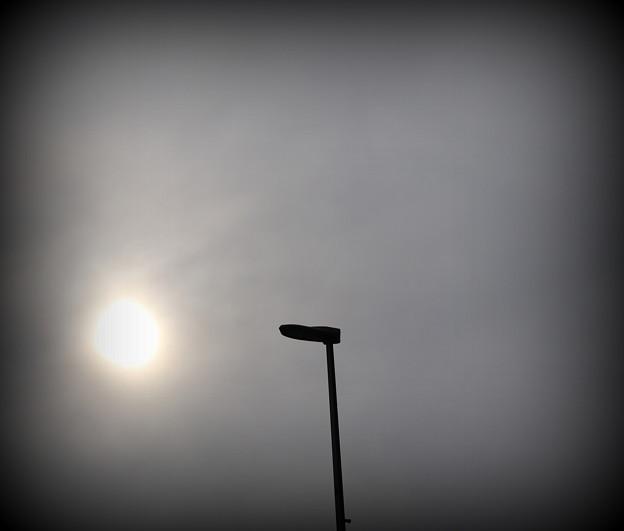 十月 十五日 午前八時の  空模様