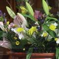 写真: 今週の生け花