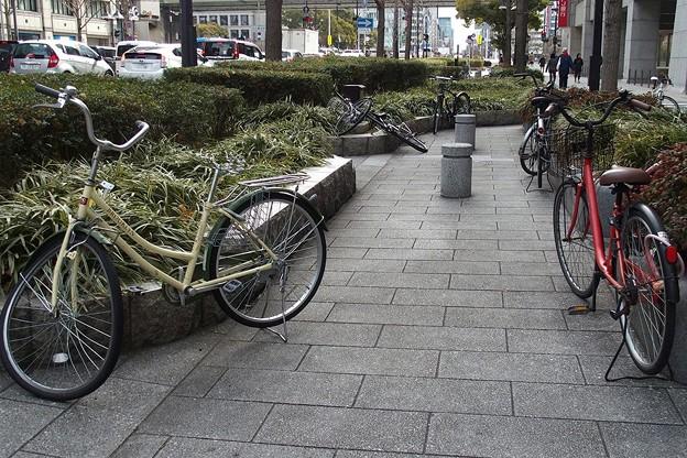 自転車のある風景1