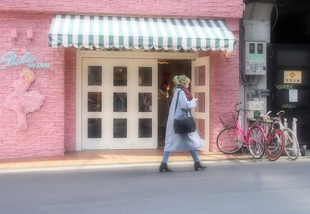 街はピンク♪