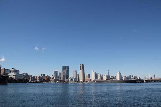 横浜港の正月