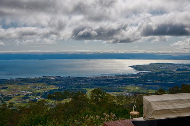 びわ湖の見える丘